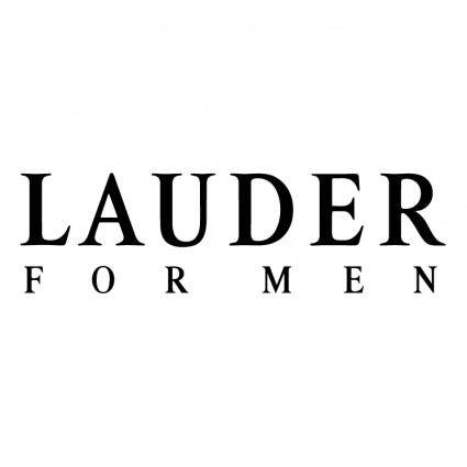 free vector Lauder for men