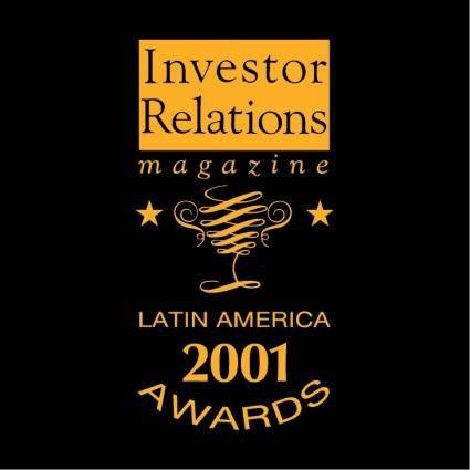 Latin america 2001 awards