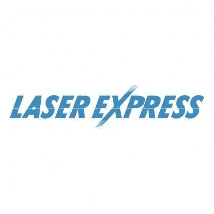 free vector Laser express