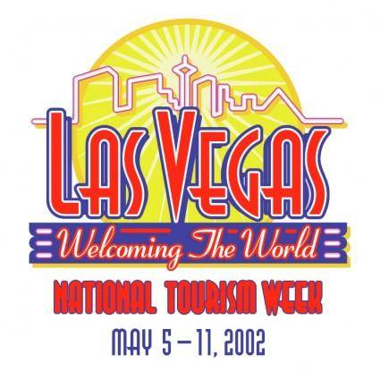 free vector Las vegas welcoming the world