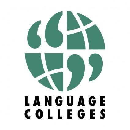 free vector Language colleges