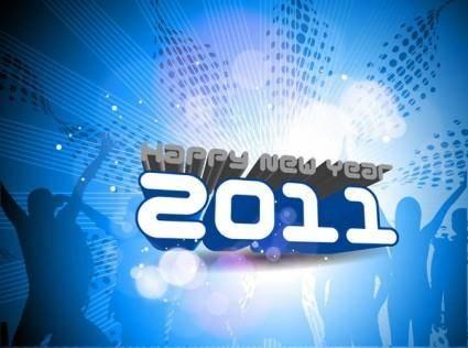 2011 font design vector 3