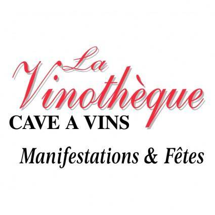 free vector La vinotheque