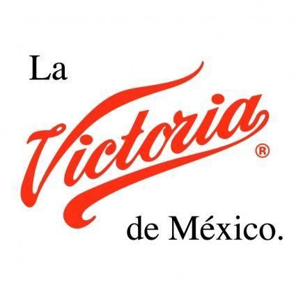 free vector La victoria de mexico