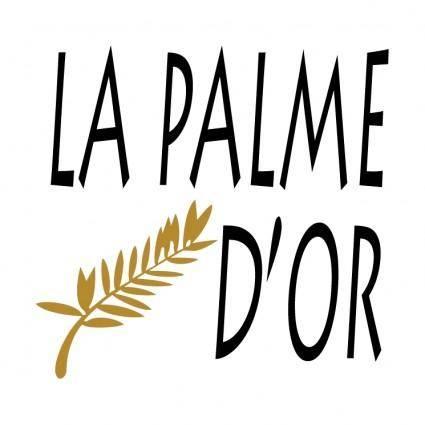 free vector La palme dor