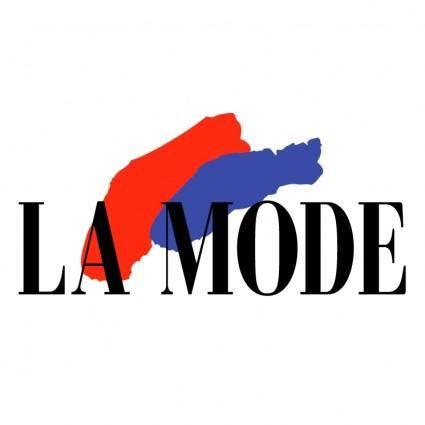 free vector La mode