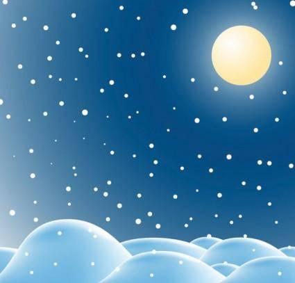 free vector Snow vector 2