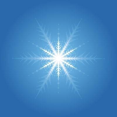 Light snow vector