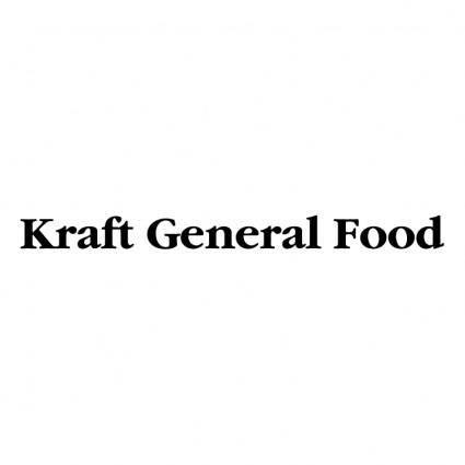 free vector Kraft general food