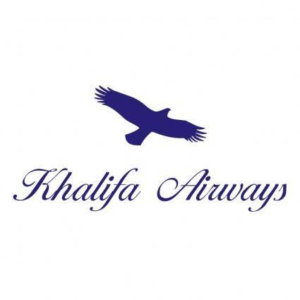 free vector Khalifa airways
