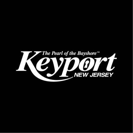 free vector Keyport new jersey
