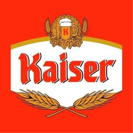 free vector Kaiser cerveja