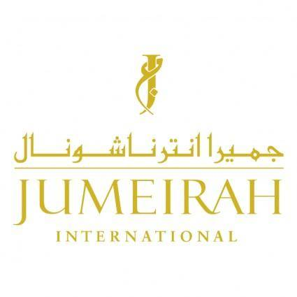 free vector Jumeirah international