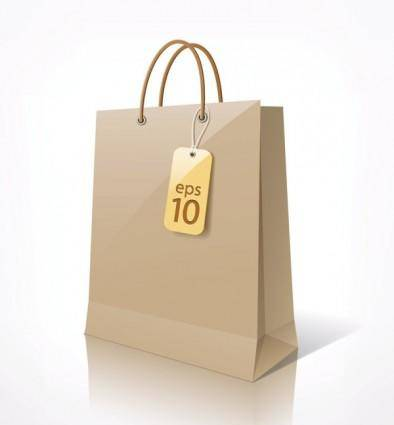 free vector Shopping bags 01 vector
