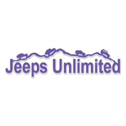 free vector Jeeps unlimited