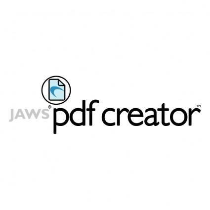 Jaws pdf creator