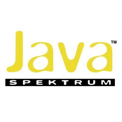 free vector Java spektrum