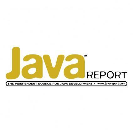 free vector Java report