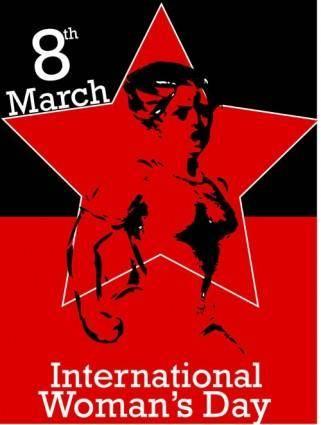 free vector International women day clip art