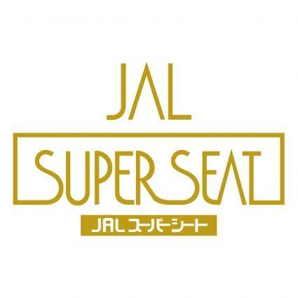 free vector Jal super seat
