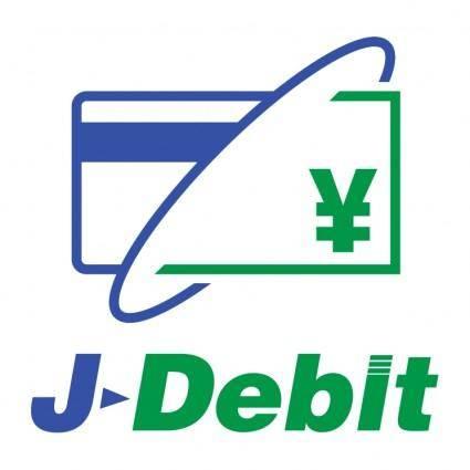 free vector J debit