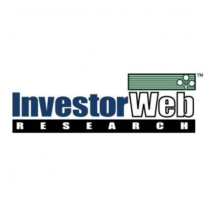 Investorweb research