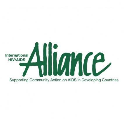 free vector International hivaids alliance
