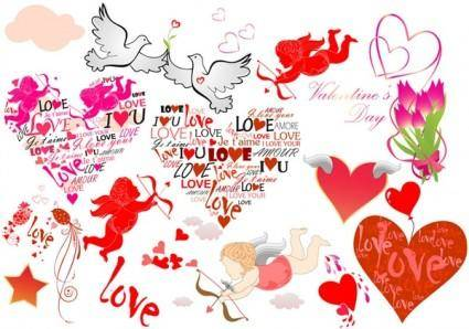 free vector Cupid element vector