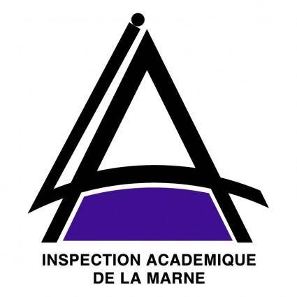 Inspection academique de la marne