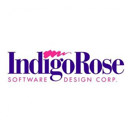 free vector Indigo rose