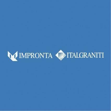 free vector Impronta italgraniti