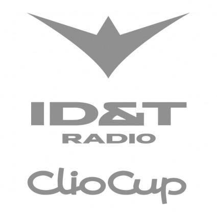 free vector Idt radio clio cup