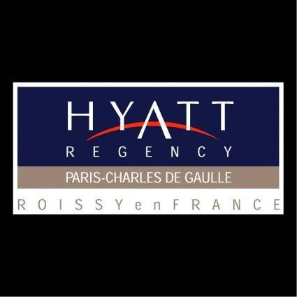free vector Hyatt regency paris