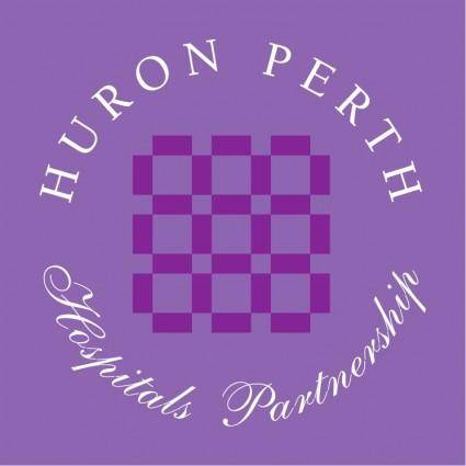 free vector Huron perth hospital partnership
