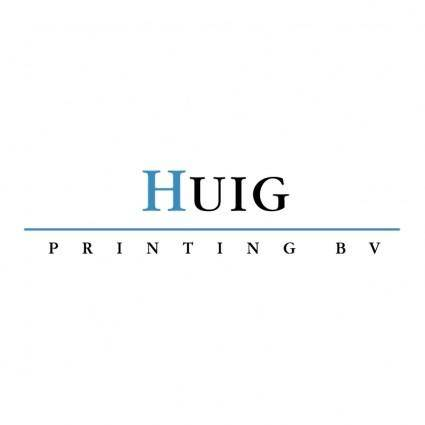 Huig printing bv