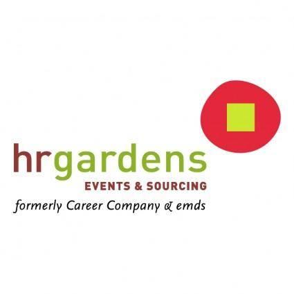 free vector Hr gardens