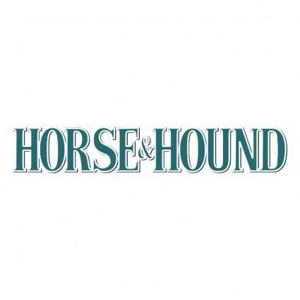 Horse hound