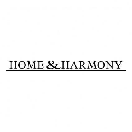 Home harmony