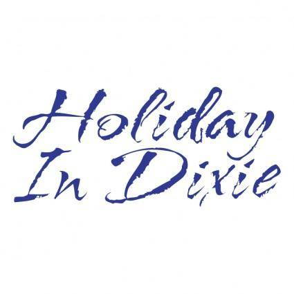 free vector Holiday in dixie