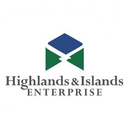 free vector Highlands islands enterprise