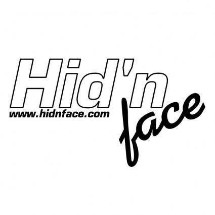 free vector Hidn face