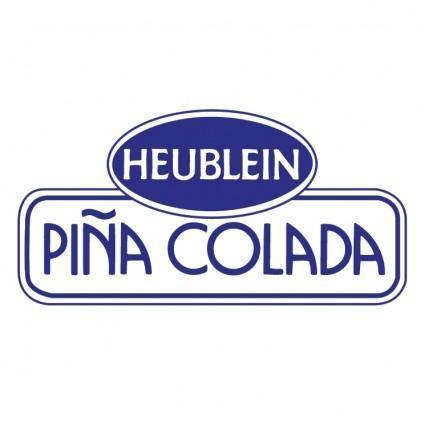 free vector Heublein pina colada