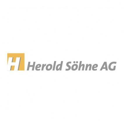free vector Herold sohne ag