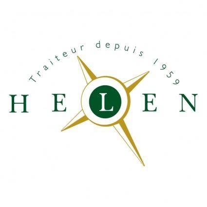 free vector Helen traiteur
