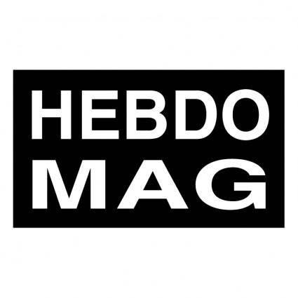free vector Hebdo mag
