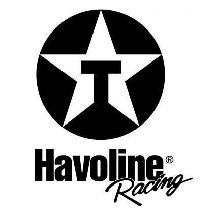 free vector Havoline racing 0
