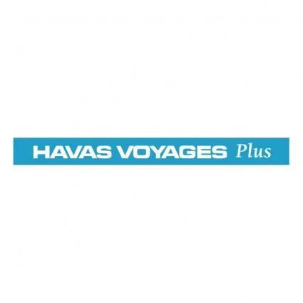 free vector Havas voyages plus