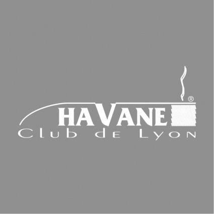 free vector Havane club de lyon 1