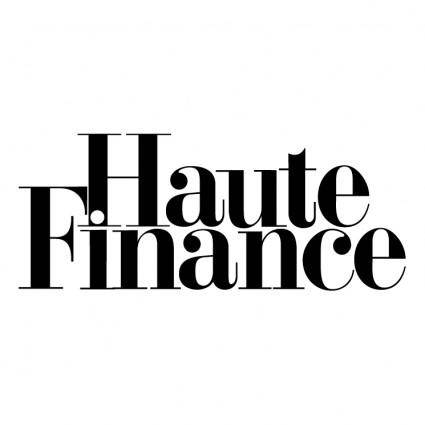 free vector Haute finance