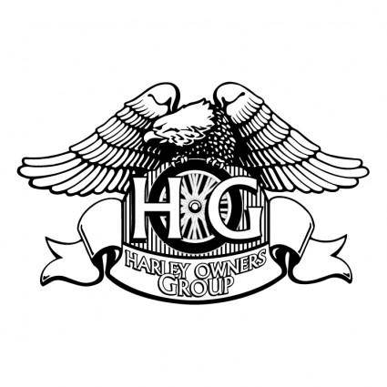 free vector Harley owners group 0